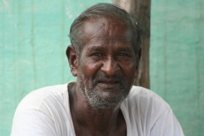 Yellappa, at his home in Uravakonda in 2014 (Pic by Pankaj Sekhsaria)