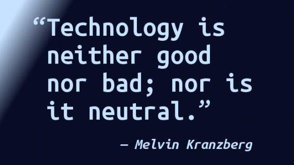 melvin-kranzberg-technology