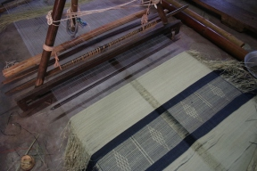 The famous mats of Pattimadai are made from a special species of grass that grows in the river bed in the plains